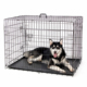 "48""/42""/36""/30""/24"" one/two/three doors foldable suitcase black/blue/pink color ABS tray steel wire Pet Dog Cage Crate"