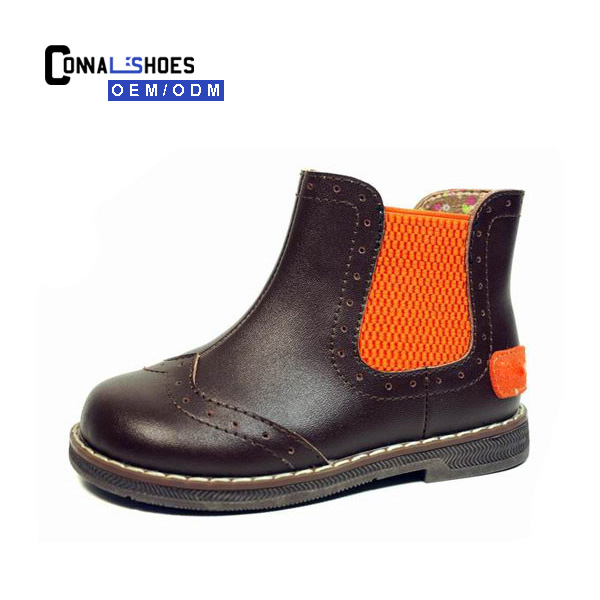 Connal High Quality trace design shoe city genuine leather canadian boots