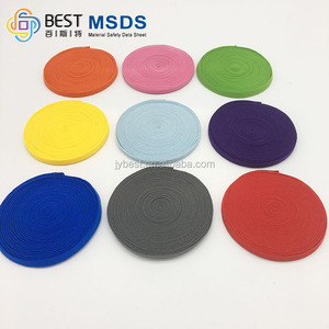 3mm-5mm Medical Polyester Woven Knitting Flat Elastic Webbing Bands Rope/strap/tape/belt For Face Masks