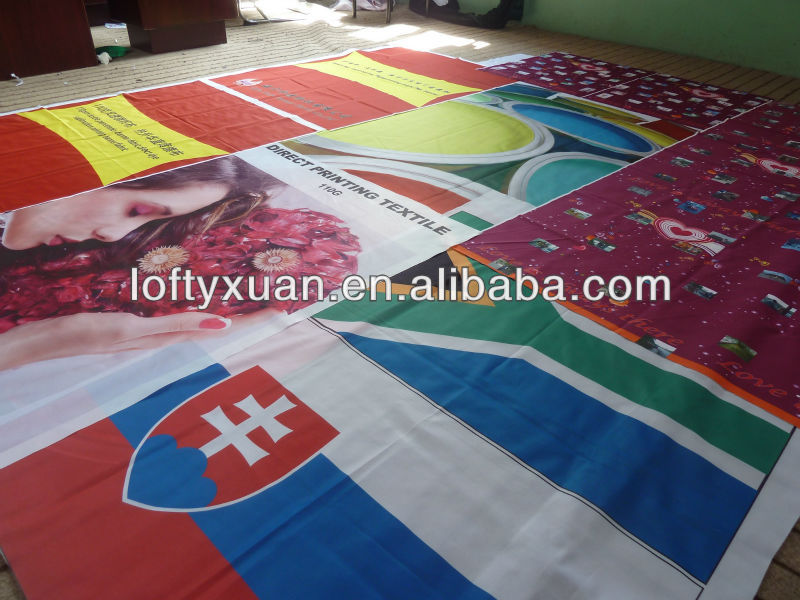 dye sublimation printing textile/dye sublimation flag fabric