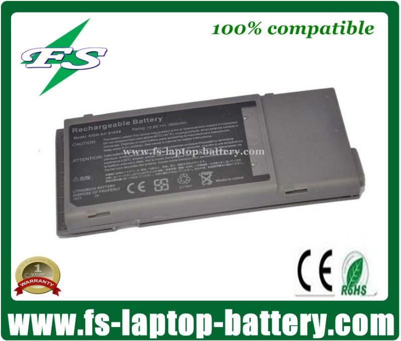 10.8V 3600 mAh B-5955 BTP-25D1 91.40C28.001 Replacement Laptop Battery for Acer TravelMate 330 Series Notbook Batteries