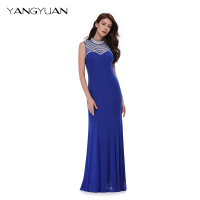 LD604 Elegant lady evening dress cheap wedding gowns with beaded