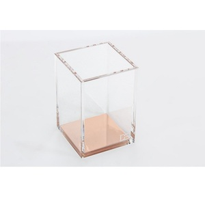 Jihong 3D customized acrylic pen and pencil box display stand