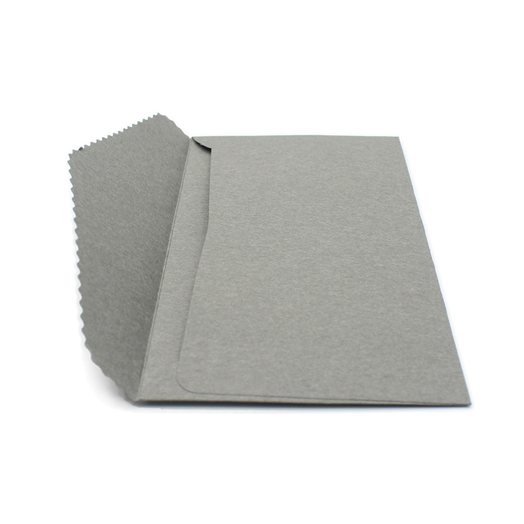 Hot selling Strong Grey color kraft paper envelope printing