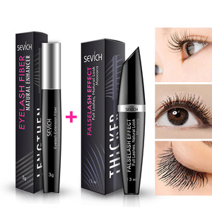 New plastic mascara container 4d fiber mascara for eyelash extension