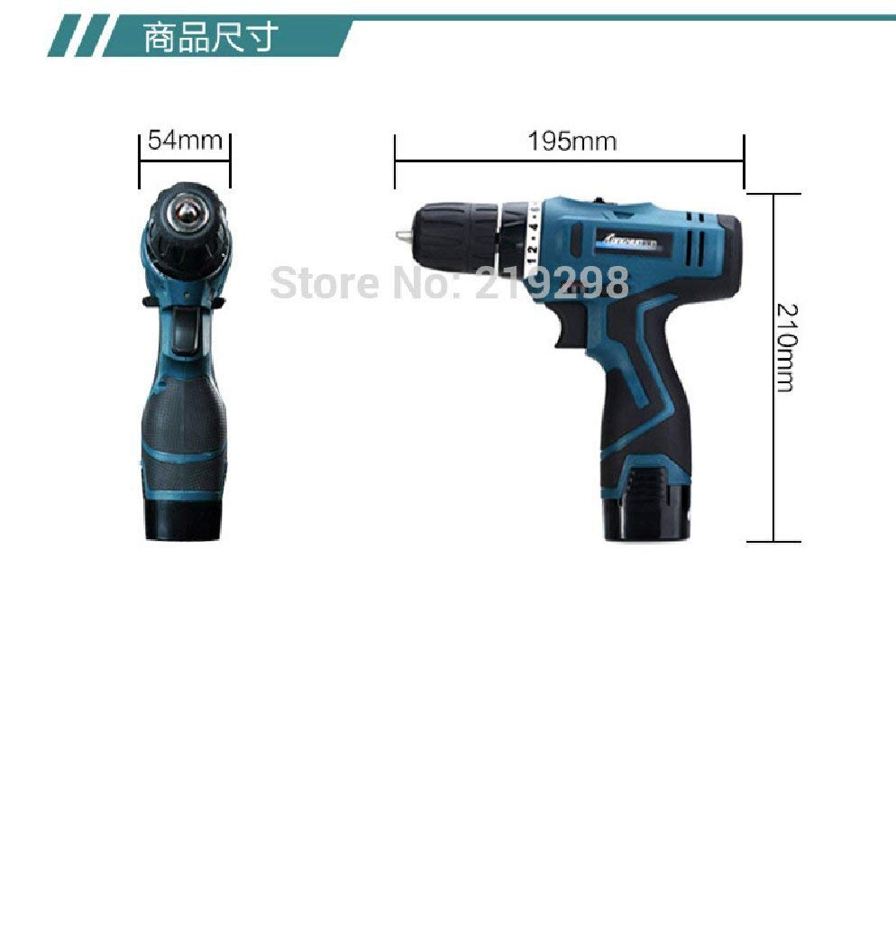 16.8V Lithium Battery Electric Screwdriver hand precision Charging Drill bit Cordless drill Torque drill Power Tools