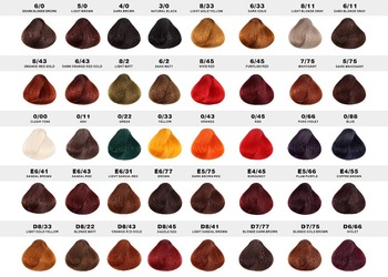 Manufacture Multi Color Hair Color Chart Hair Dye Color