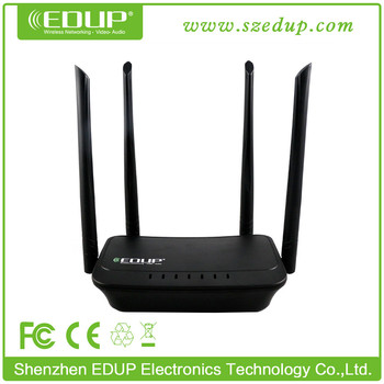 Brand New Manufacturer SOHO 300Mbps 2 port wifi router with 4 antennas with App