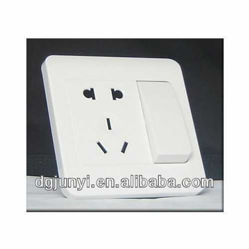 Switch Plastic Cover from Injection Mould
