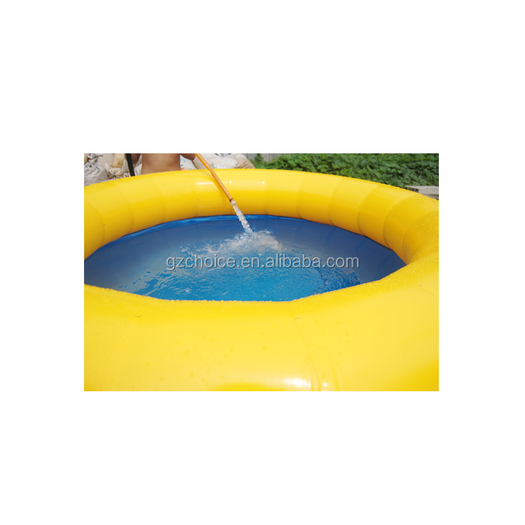 Wholesale outdoor bath round inflatable water pool