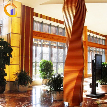 Stainless Steel Colourful Cheap Indoor Square Decorative Metal Columns
