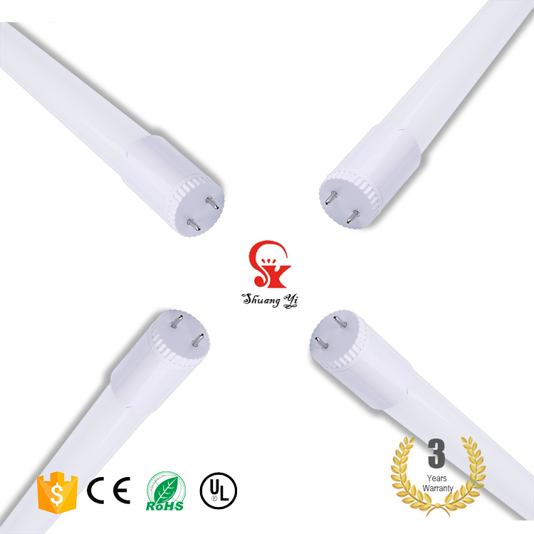 Free Sample High Lumen pure color Light pass 95% Glass G13 1200mm smd2835 led light tube t8 18w