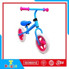 Ride on car steel frame EVA wheel power by feet baby tricycle
