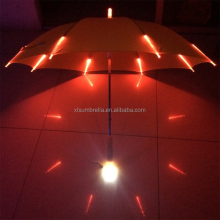 LED umbrella with light Ribs