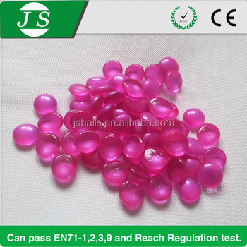 Wholesale Colorful Recycled Aquarium Flat Small Glass Pebbles For
