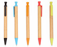 new promotional recycle paper ballpen
