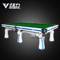 international standard size pool table