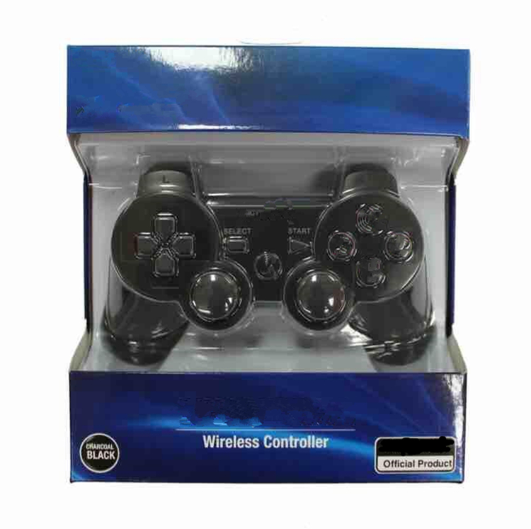 Free shipping by DHL Wireless bluetooth Joystick Pad for ps3 controller retail box