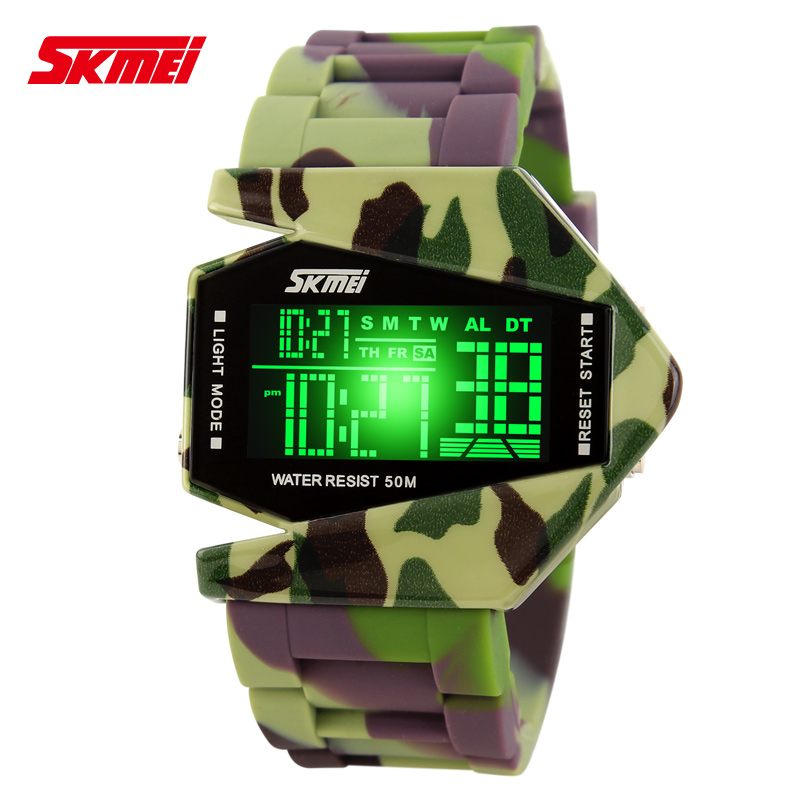Skmei 0817 Flying Digital Watch Waterproof Japan Movement Wrist Watch For Kids