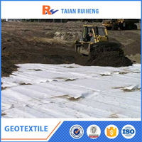 Nonwoven Geotextile 200g M2 For Earthwork
