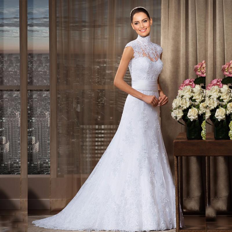 Spanish Lace Wedding Gown: Popular Spanish Lace Wedding Dresses-Buy Cheap Spanish