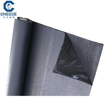 Siplast Feuille Etancheite Bitume Elastomere Sbs Paradiene Bd S Film En Sous Face Film En Surface Rouleau 7 5x1 M Ep 2 5 Mm Point P