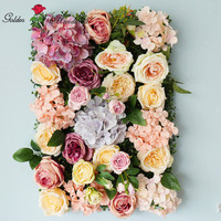Hot Sale Flower Wall Wedding Decor Peony Flower Wall With Rose