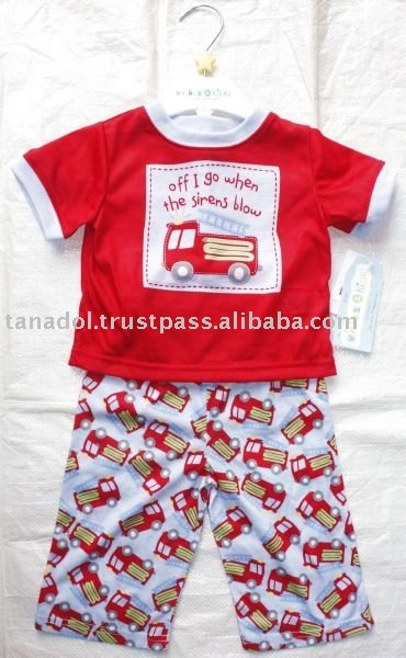 Boys 2 pcs night,new order,childrens wear,children clothing
