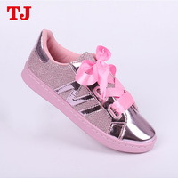 women casual shoes 2018 new model ladies pink casual injection shoes sneaker