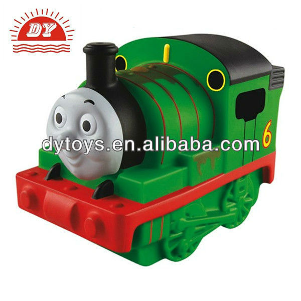 plastic cartoon thomas train toys for kids