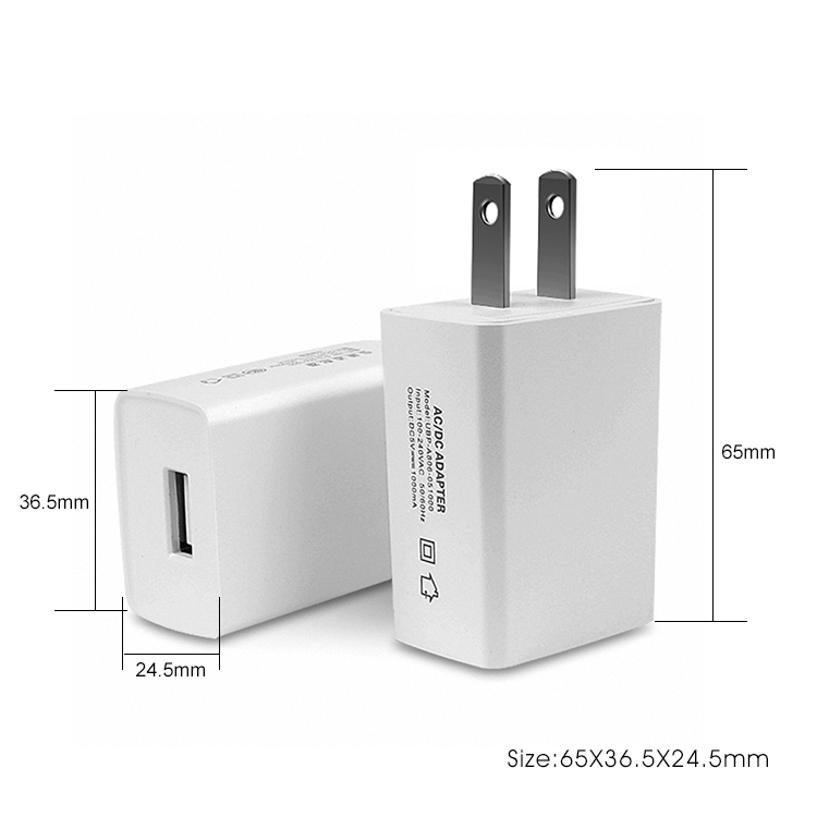Technology inventions 2019 5V 2A Travel AC/DC Power Adapter Universal Usb Charger Eu Adapter
