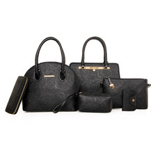 Add to Favorites. LY15 female fashionable embossing 6 in 1 set bags with  handbag shoulde. 1a5a69e169cc1
