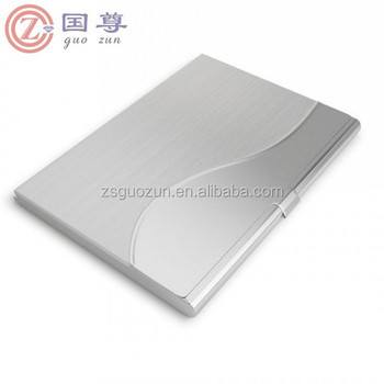 Stylish pocket sized personal name case business card holder for stylish pocket sized personal name case business card holder for women men stainless steel silver metal reheart Images