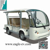 electric shuttle bus, 8 seats, CE approved, mini bus for sightseeing purpose