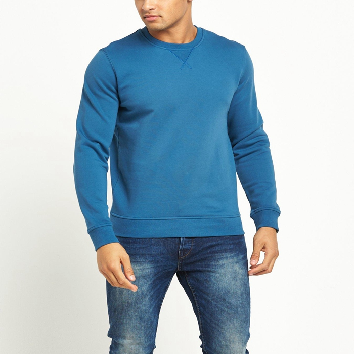 100 Cotton Blank Sweatshirts Wholesale Crew Neck Plain Sweatshirts