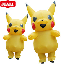 Factory Outlet 210d Oxford Giant Mascot Inflatable Pikachu Costume