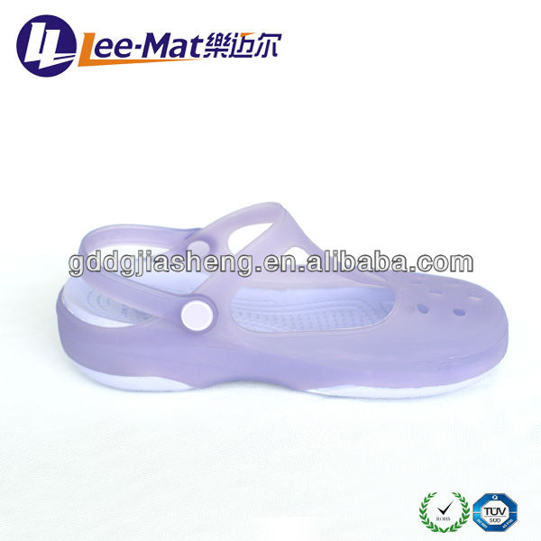 2013 Stylish Flat Jelly Sandal