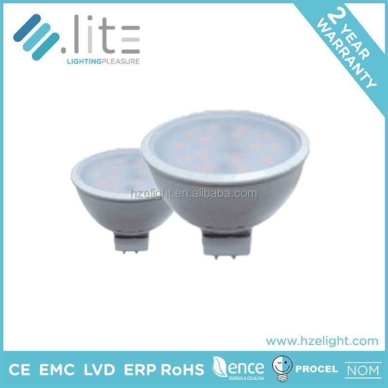 CE Rohs Certificated China factory hot promotion 12v dimmable mr16 gu5.3 led bulb lamp