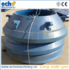 high quality Nordberg Symons cone crusher 4 1/4 spare parts mantle and concave 13%Mn,18%Mn,22%Mn available