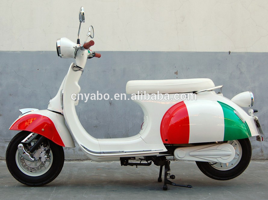 3000w Motor Vintage Vespa Electric Classic Motorcycle With
