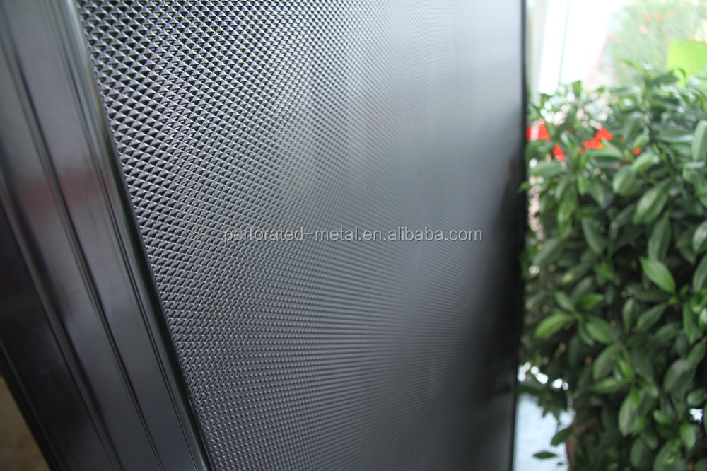 Perforated Aluminum Sheet Fabric Room Divider Screen