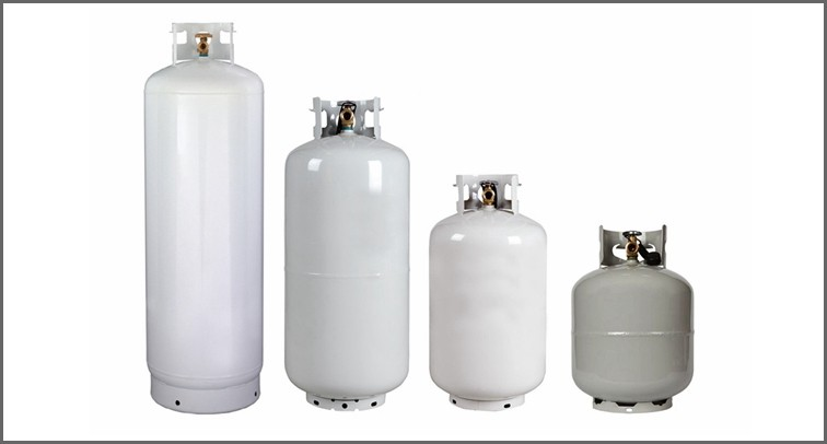Wholesale 100lb Empty Lpg Cylinder Propane Gas Tank Sizes For Usa - Buy  100lb Empty Lpg Cylinder,Propane Gas Tank,Propane Gas Tank Sizes For Usa