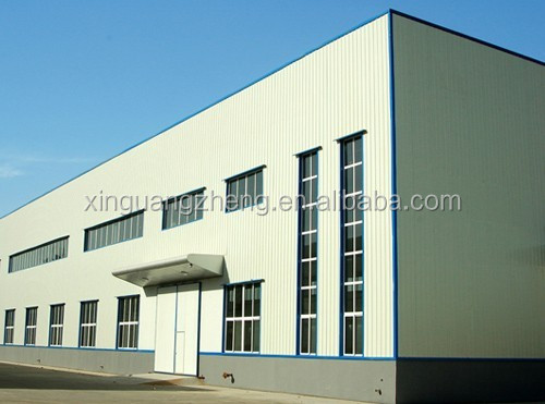 prefab construction steel structure warehouse fabricator