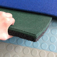 High quality Yard paver and Fitness Center Gym Floor Rubber Mat with 20mm thickness