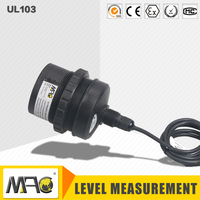 Mac 4~20Ma Ultrasonic Level Sensor For Fuel Tank UL103 Series