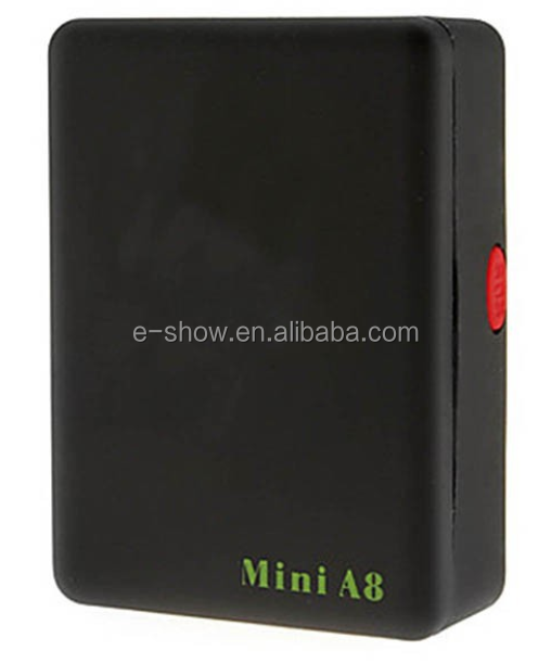 New Black Mini A8 Intelligent GPS Locator Remote <strong>Tracker</strong> Vehicle GSM/GPRS/GPS SMS <strong>Google</strong> map linkage Q3509A