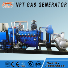 100kW gas generator for biomass power station
