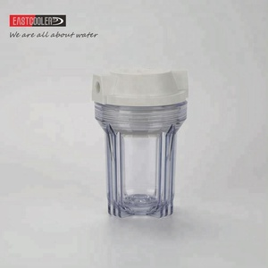 5 inch Transparent Clear Water Filter Housing For Water Treatment