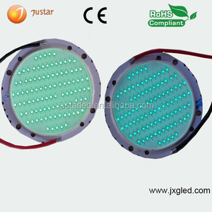 100w 550nm 560nm 570nm green led to multi color to grow led