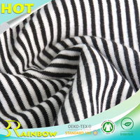 32S 95%Cotton 5%Spandex Egyptian Cotton Fabric Yard for Garments